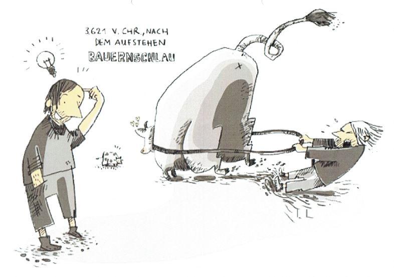 Die Erfindung des Traktors – Steinzeitkraft verändert die Welt