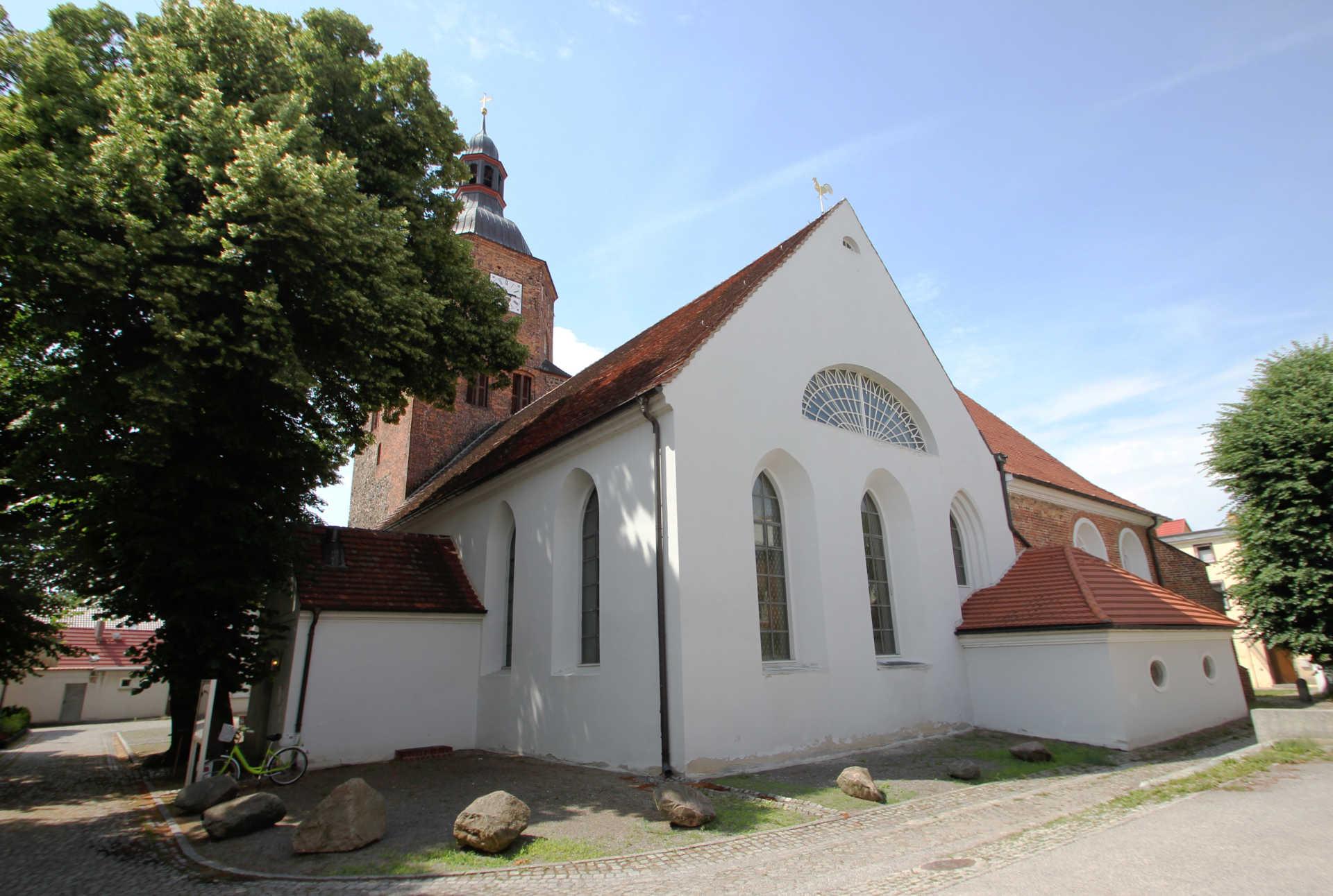 Doppelkirche in Vetschau/Spreewald, Foto: Stefan Laske