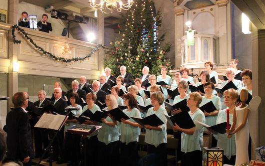 Weihnachtskonzert des Gemischten Chor Melodia e.V. - Foto: Stadt Vetschau/Spreewald