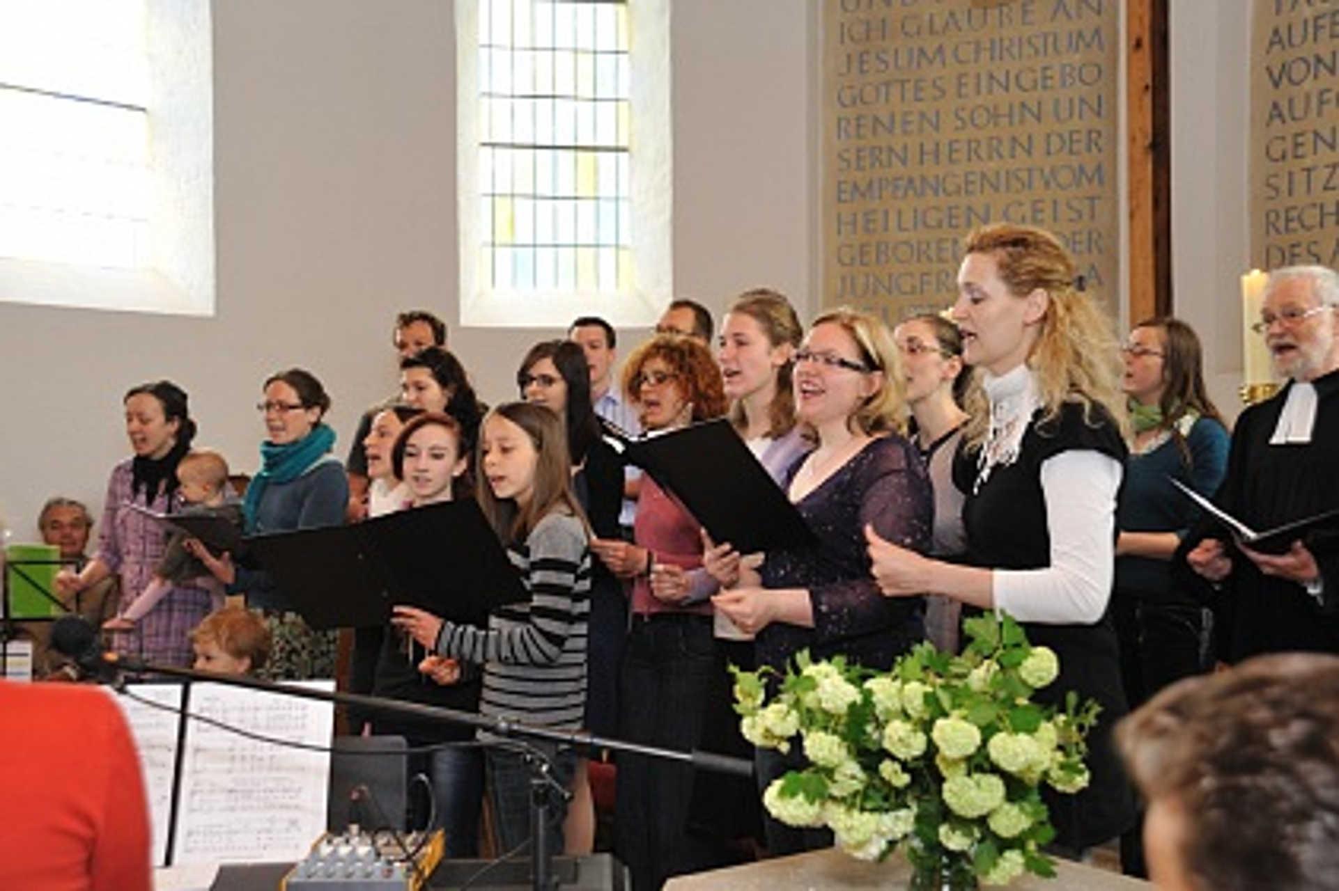 Der Gospelchor aus Spremberg, Foto: Kappelmüller