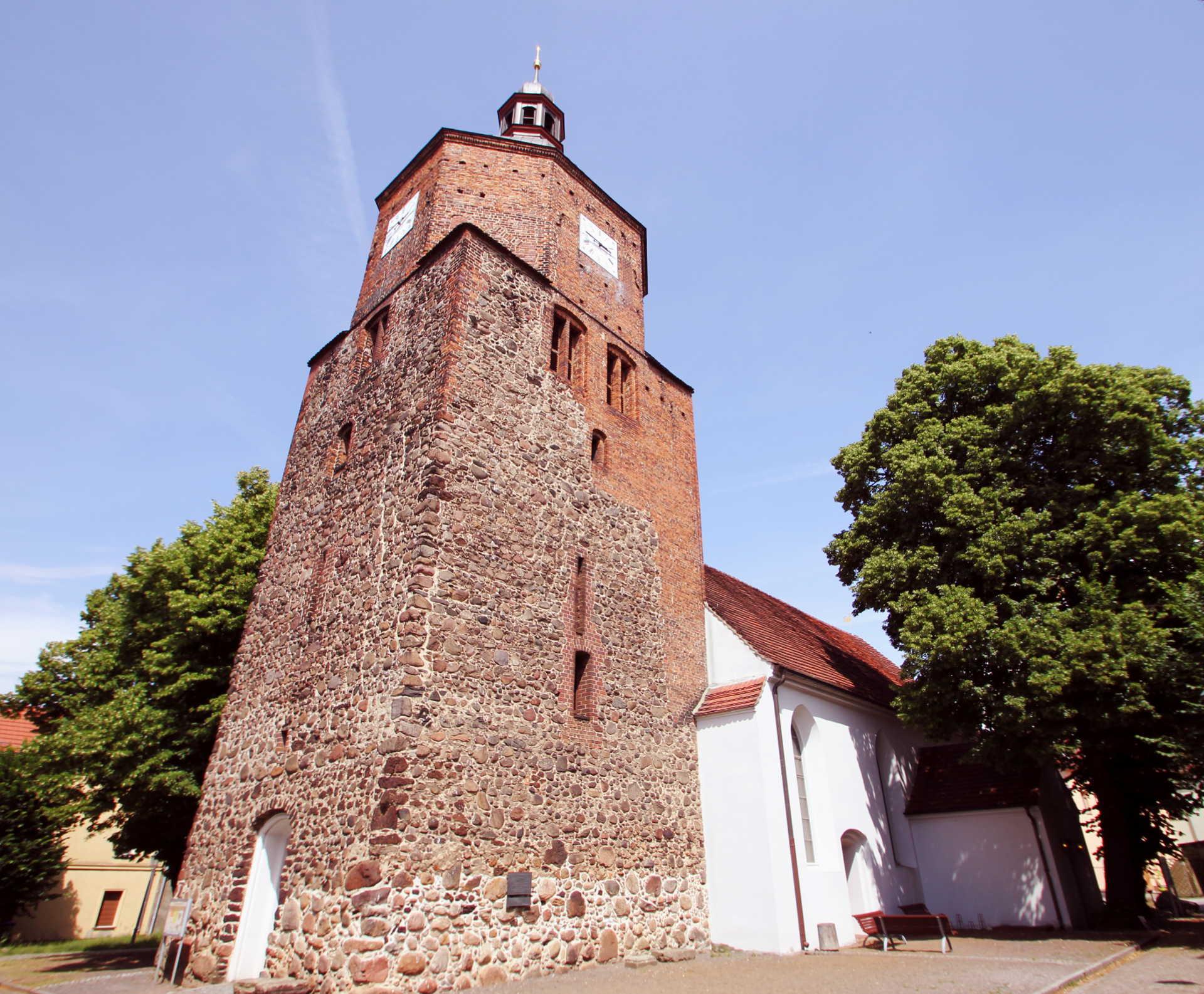 Turm der Wendisch-Deutschen Doppelkirche, Foto: Stefan Laske
