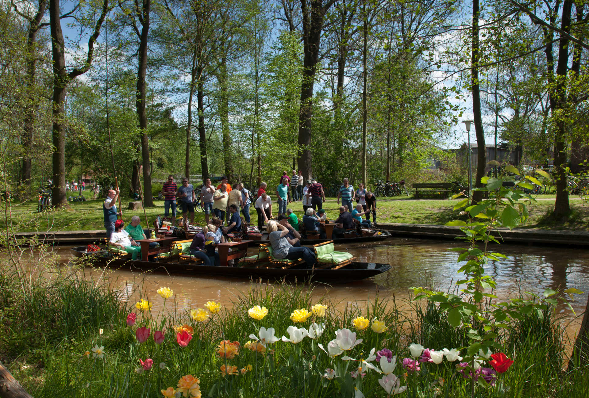 Saisonstart am Naturhafen in Raddusch, Foto: Peter Becker