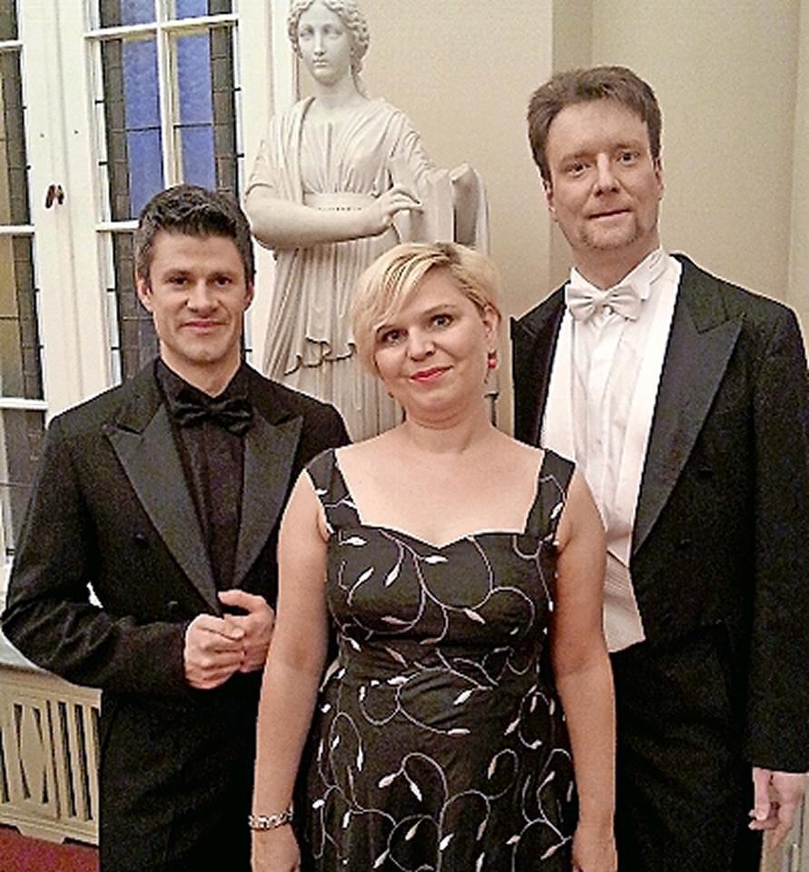 Trio Belcantissimo im Stadtschloss Vetschau