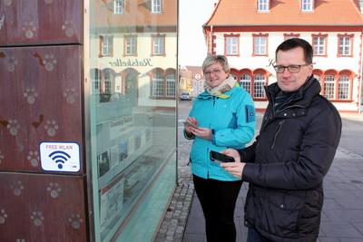 WLAN Hot-Spot am Vetschauer Winkel