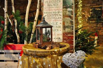 Weihnachtliches Erdbeerland in Missen