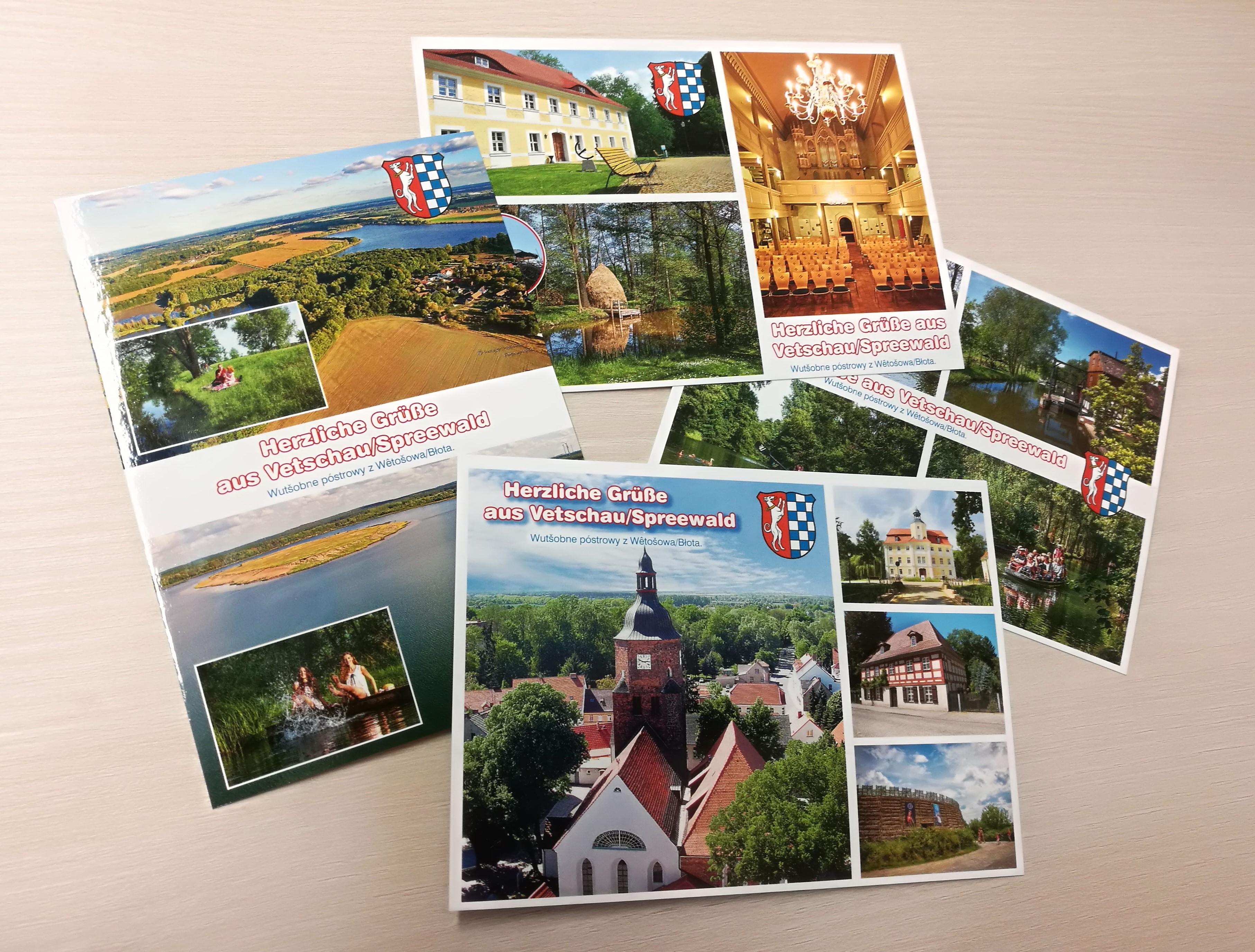 Vetschauer Ansichtskarten ©Stadt Vetschau/Spreewald