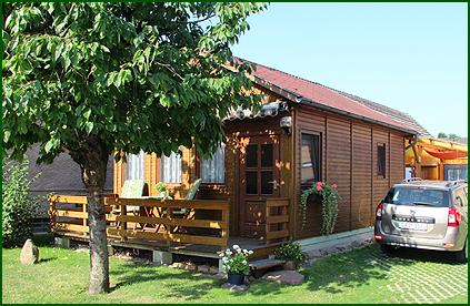 Das 30 m² große Ferienhaus der Familie Konzack